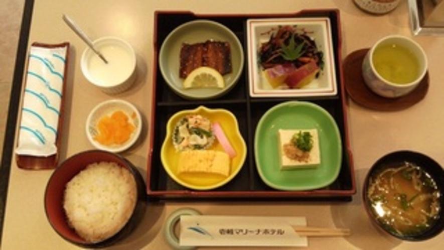 【朝食】朝食は基本的に和食になります