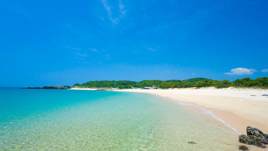 *■錦浜■壱岐の海は透明度が高く、美しいビーチがたくさんあります♪