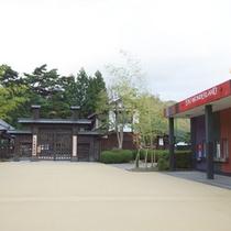 *【日光江戸村①】園内は江戸時代中期の街並みを再現され、忍者活劇などのアトラクションがあります。