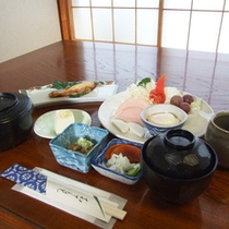 *【朝食①】手作りのボリューム満点朝食をご用意いたします。
