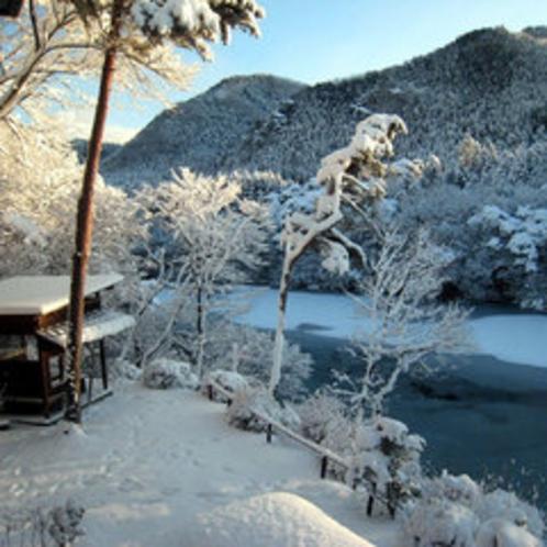 *冬・一面の銀世界