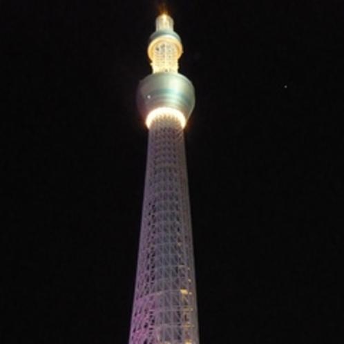 *ワールドスクエアの東京スカイツリー
