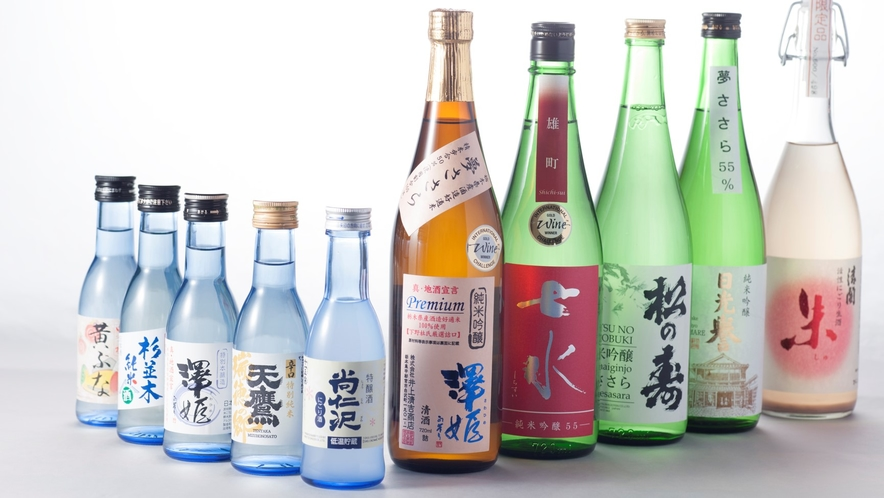 【とちぎの銘酒】 杜氏が丹精込め作り上げたとちぎの銘酒を取り揃えました。