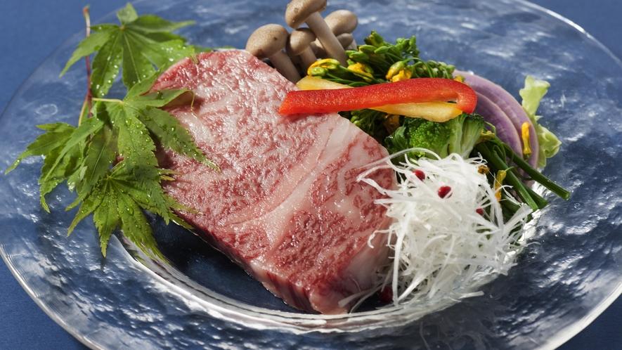 ◆こだわりの黒毛和牛ステーキ