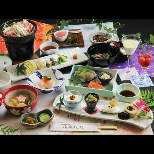 ☆≪花≫ とちぎの旬の素材を料理長特製会席料理で!