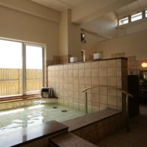 程よい広さの大浴場