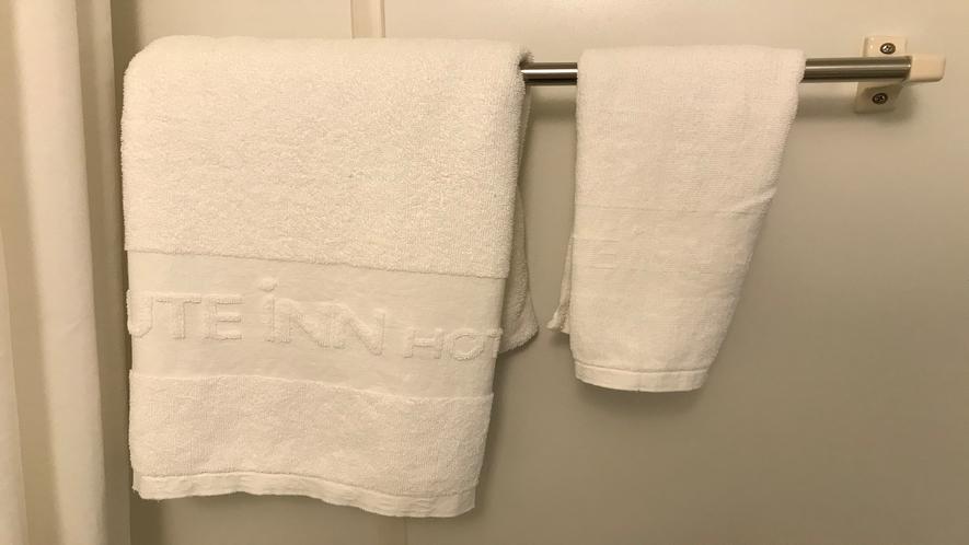 バスタオル【大浴場をご利用の際もお部屋のタオルをご持参ください】