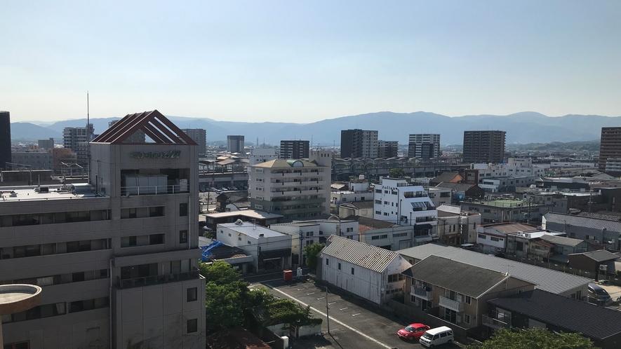 最上階からの景色【駅側】