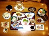 宿泊のご夕食会席料理