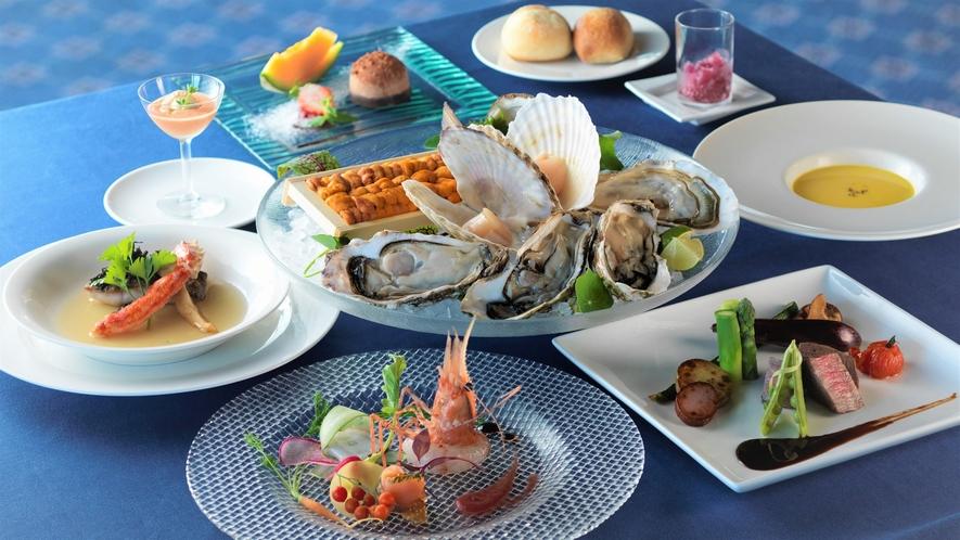 【特選創作ディナー】新鮮な海産物を中心としたシェフ自慢の創作料理(イメージ)