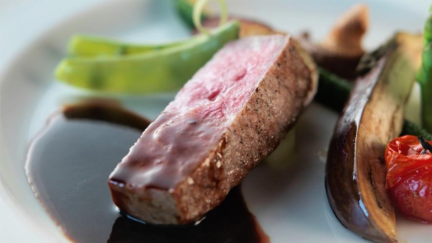 【創作ディナー】サロマ湖周辺は山海の幸の宝庫!地元のお肉や旬の野菜もおすすめなんです♪(イメージ)
