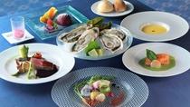 【創作ディナー】北の恵みをシンプルに堪能できるコース料理(イメージ)