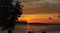 【サロマ湖の夕日(春~秋)】当館から眺める黄昏の風景はまさに絶景です!