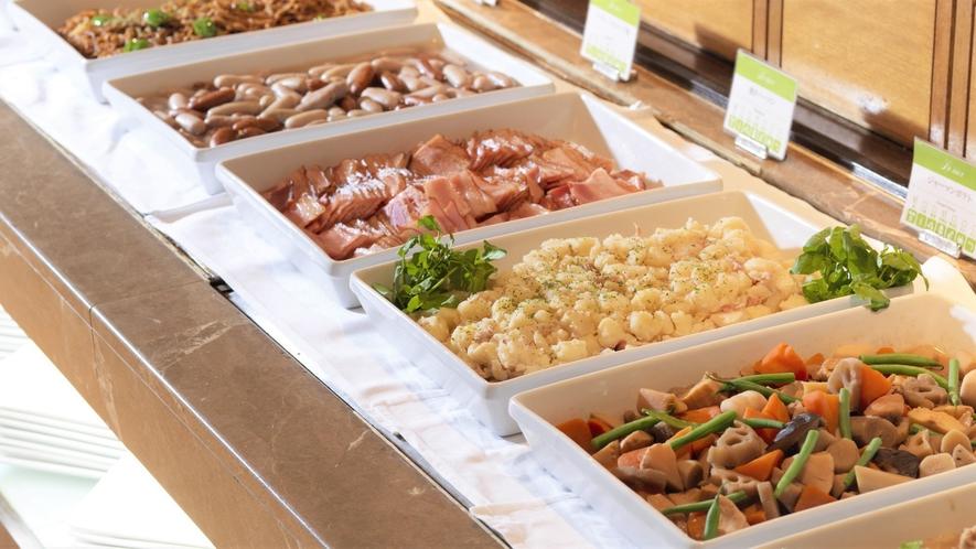 【朝食バイキング】和食も洋食も愉しめる約30種類の和洋バイキング(イメージ)