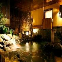 男性大浴場 外気浴
