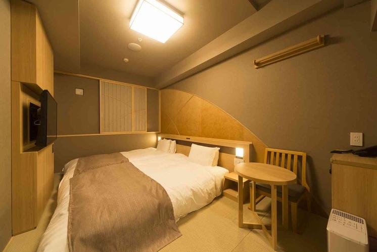 ◆和風ツインルーム 17平米 ベッド幅:120×195センチ×2