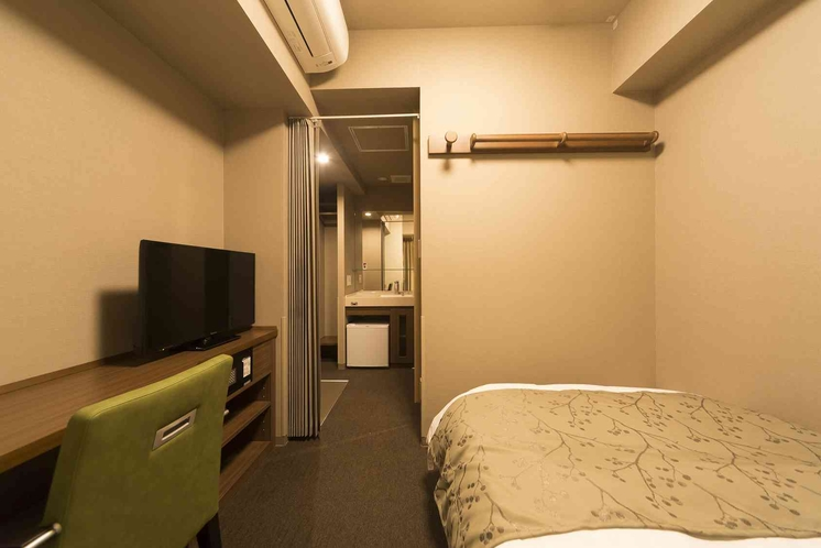 ◆セミダブルルーム(13平米 ベッド幅:120×195センチ