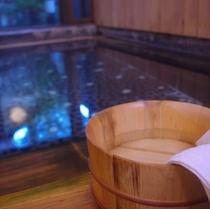 お風呂桶と温泉2(500)