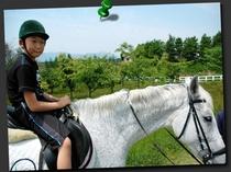 ☆乗馬体験 蒜山ホースパーク