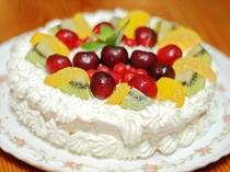 ☆スイーツ作り デコレーションケーキ