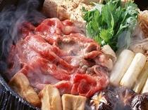 cp 貸切プランのお鍋料理(すき焼き)
