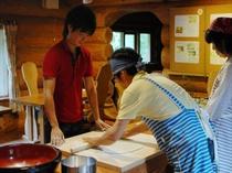 ☆蕎麦打ち体験