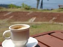 淹れたてのコーヒー♪