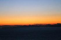 夕陽が沈んだ後