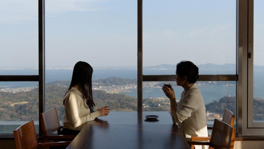 ◆【眺望】レストランプラシャンティも絶景スポットです。