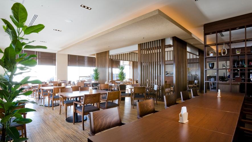 ◆【プラシャンティ】 絶景の海を眺めながらコーヒーや軽食をお召し上がり頂けるラウンジです。