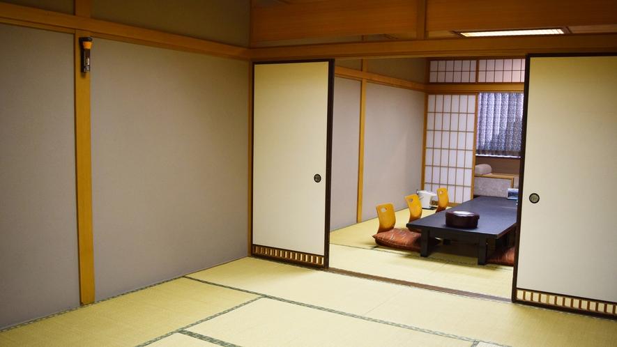 ◆【和室20+4.5畳】海が見えるお部屋。グループ・ご家族でのご旅行に。バス・洗浄機付きトイレ付。