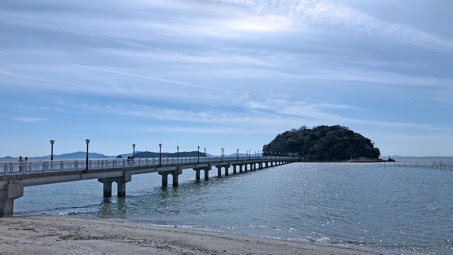 ◆蒲郡竹島 島全体が天然記念物に指定されている「竹島」