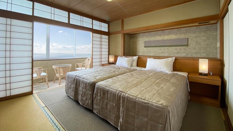 ◆【和ベッド】禁煙(シャワーブース)洗浄機付きトイレ付。