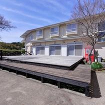 """*壱岐随一透明度が高い錦浜まで徒歩3分。玄海灘の夢の浮島""""壱岐""""の観光拠点にご利用下さい。"""