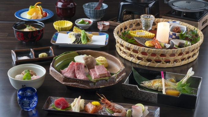 【料理長特撰】奥美濃の旬を食べつくす☆季節の創作和食会席☆当館料理長一押しプラン