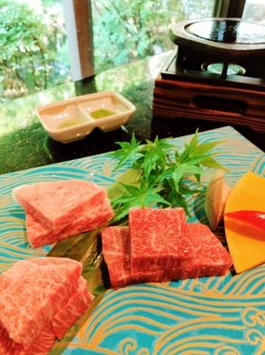 グレードUP!黒毛和牛食べ比べ・記念日プラン◆アニバーサリーケーキと貸切温泉で大切なひとときを