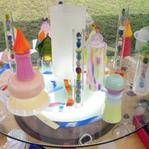 *【アートデイズ】美しいガラス工芸品が並ぶ、アートなイベント☆