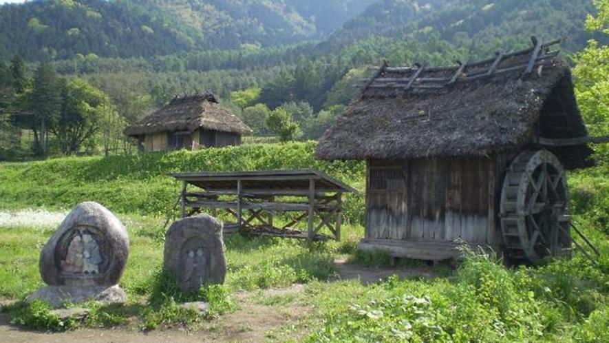 *ドラマ「おひさま」のロケ地になった、のどかな田園風景。当館周辺にございます♪