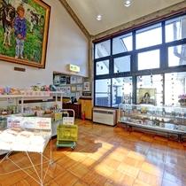 *【売店】フロント隣にはお土産・お野菜などを販売しております。