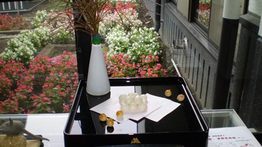 *【館内の飾りつけ/仲秋の名月】日本の風情を大切に。季節ごとの飾りつけを行っております。