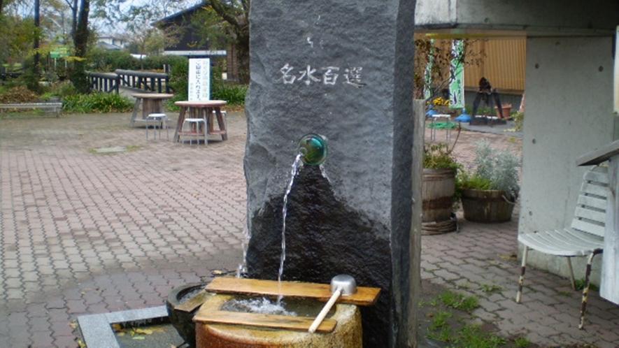 *【安曇野の湧き水】日本の名水百選に選ばれている、北アルプスの雪溶け水。
