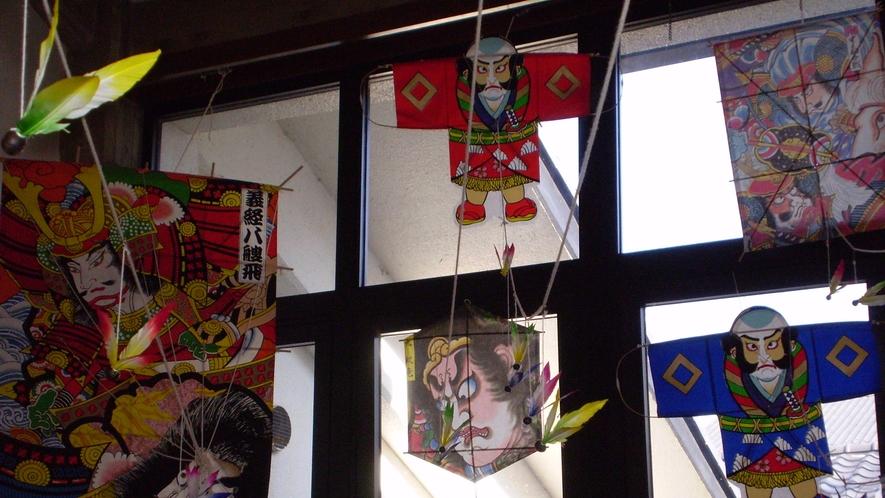 *【館内の飾りつけ/お正月】日本の風情を大切に。季節ごとの飾りつけを行っております。