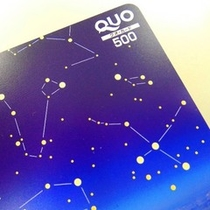 QUOカード500円券