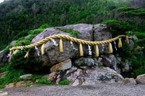 大御神社(さざれ石)