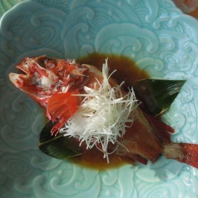 ★北海道を代表する高級魚きんき(めんめ)一匹付きの料理を楽しむ2食付プラン♪現金特価