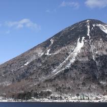 *男体山(冬)