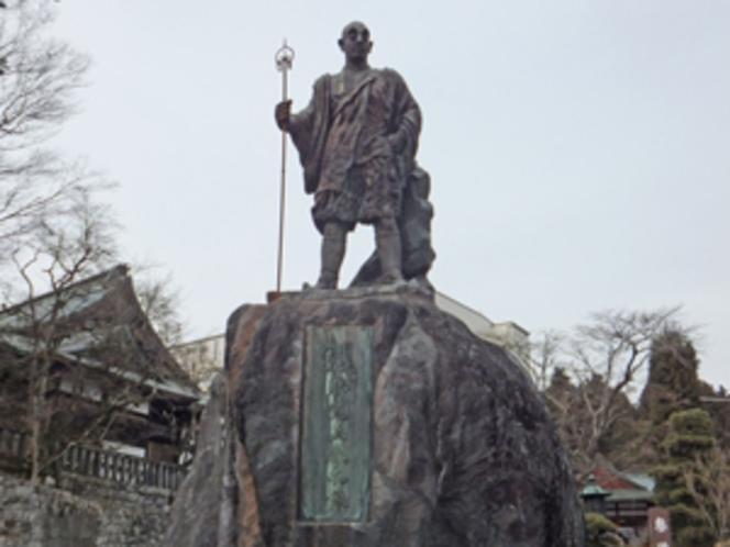 勝道上人の像