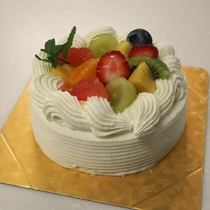 *【ケーキ一例】特別な日はぜひ晩餐館でお過ごしください。お客様に合わせたケーキをご用意します。