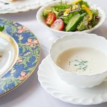 *【夕食/スープ例】素材の味を生かしたこだわりに一品