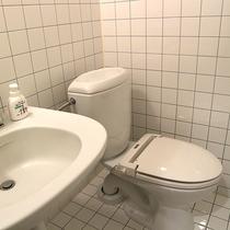 *【客室トレイ洗面一例】全客室洗面&トイレ付となっております